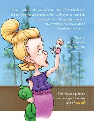 I Don't Want to Eat Bugs by Rachel Branton blog sample mouse