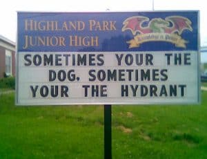 10 Funny Actual Grammar Mistakes on Signs #4