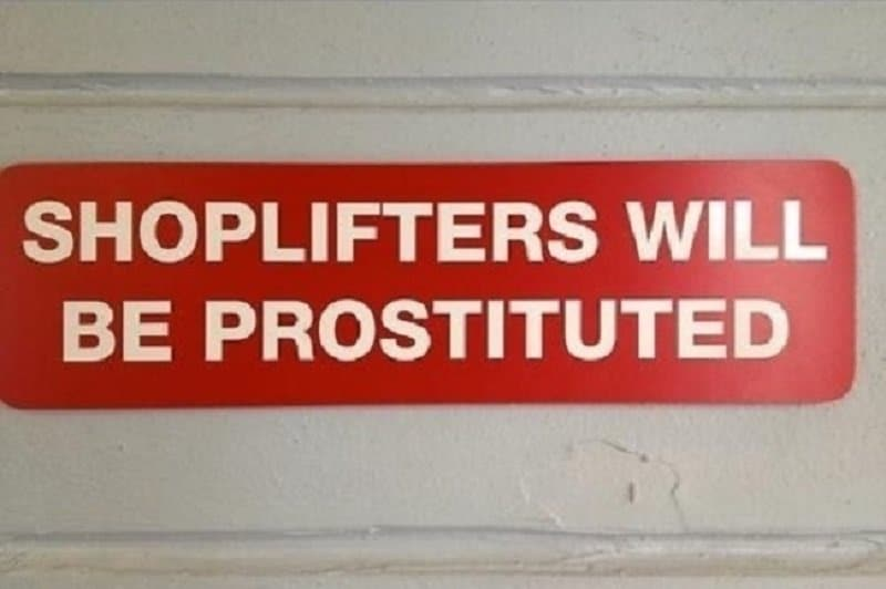 10 Funny Actual Grammar Mistakes on Signs #7