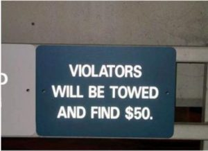 10 Funny Actual Grammar Mistakes on Signs #8