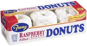 rasberry-filled donuts