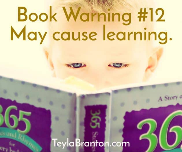 Teyla Rachel Branton's Book Warning #12