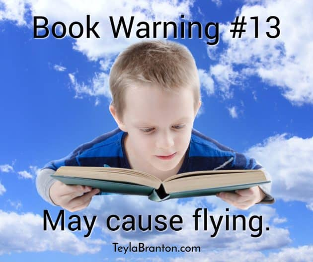 Teyla Rachel Branton's Book Warning #13