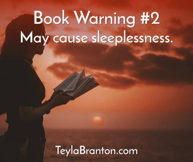 Teyla Rachel Branton's Book Warning #2