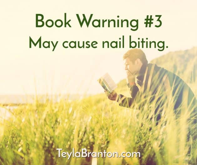 Teyla Rachel Branton's Book Warning #3