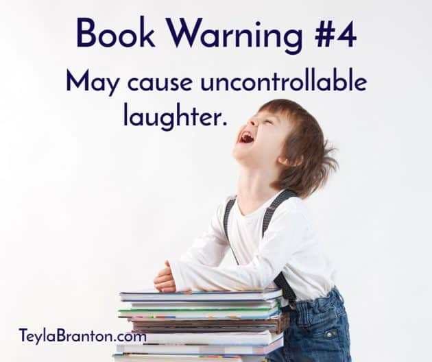 Teyla Rachel Branton's Book Warning #4