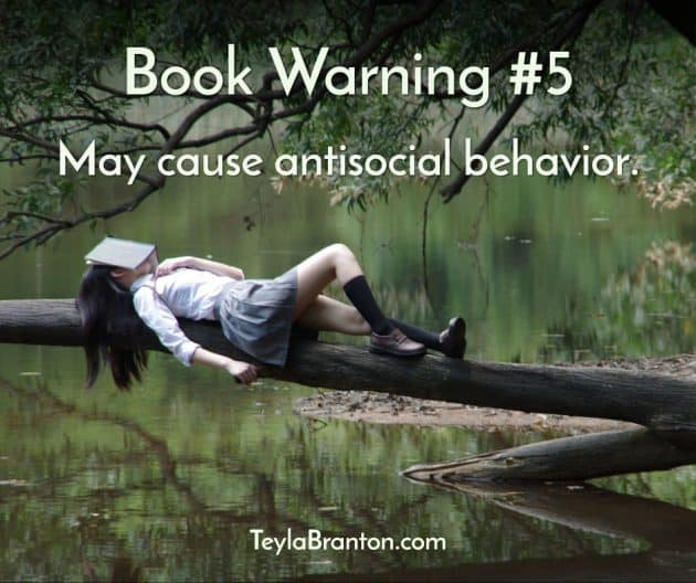 Teyla Rachel Branton's Book Warning #5