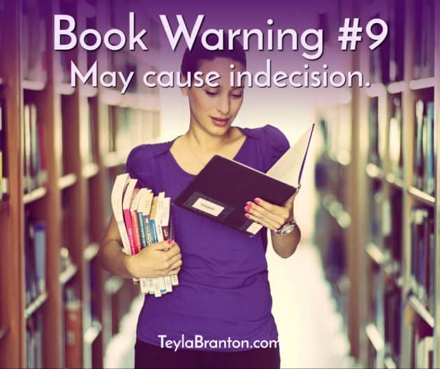 Teyla Rachel Branton's Book Warning #9