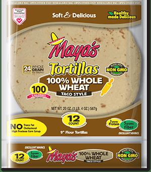 Mayas tortilla