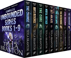 Cover for Complete Unbounded Series Books 1-9