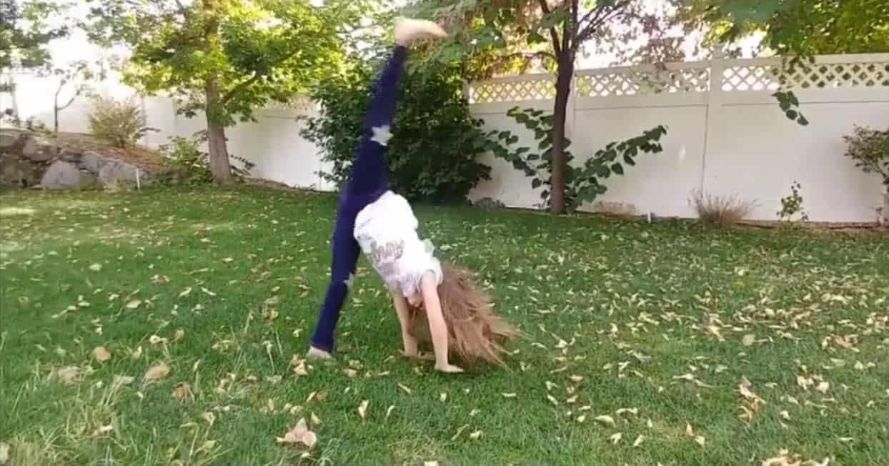 Lisbon shows how to do cartwheels