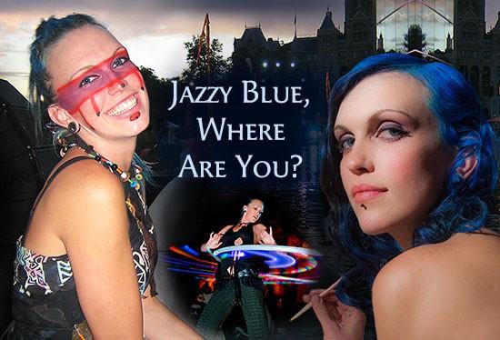 Jazzy postcard