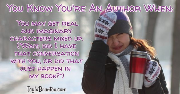 You know you're an author when