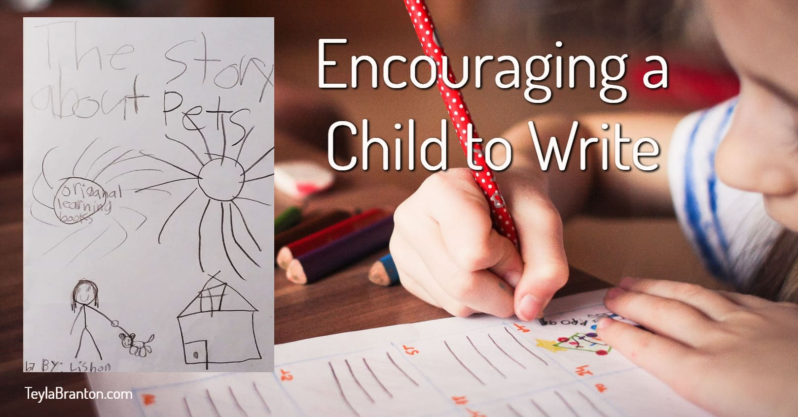 Encouraging a Child to Write, Lisbon's Story Writing