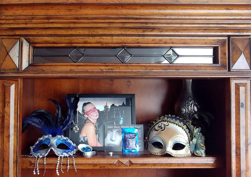 Sarah's shelf
