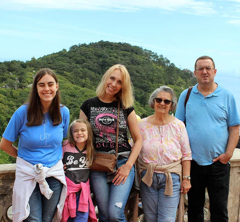 Family at Sintra