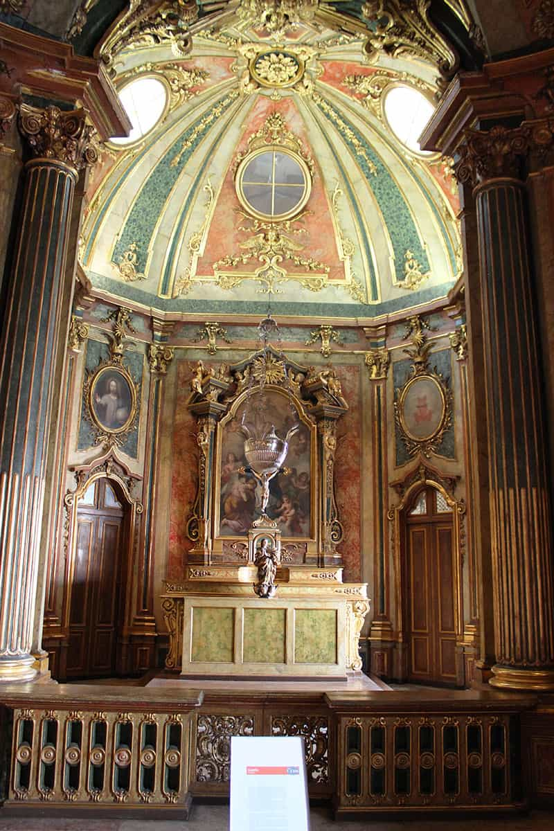 Queluz Palace chapel