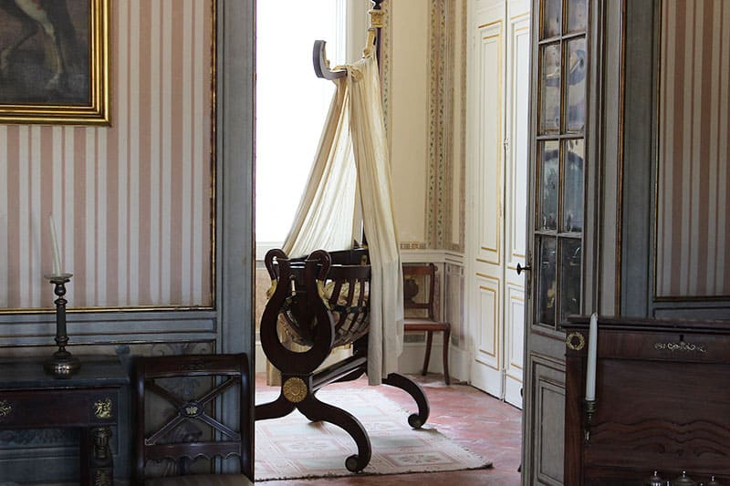 cradle at Queluz Palace