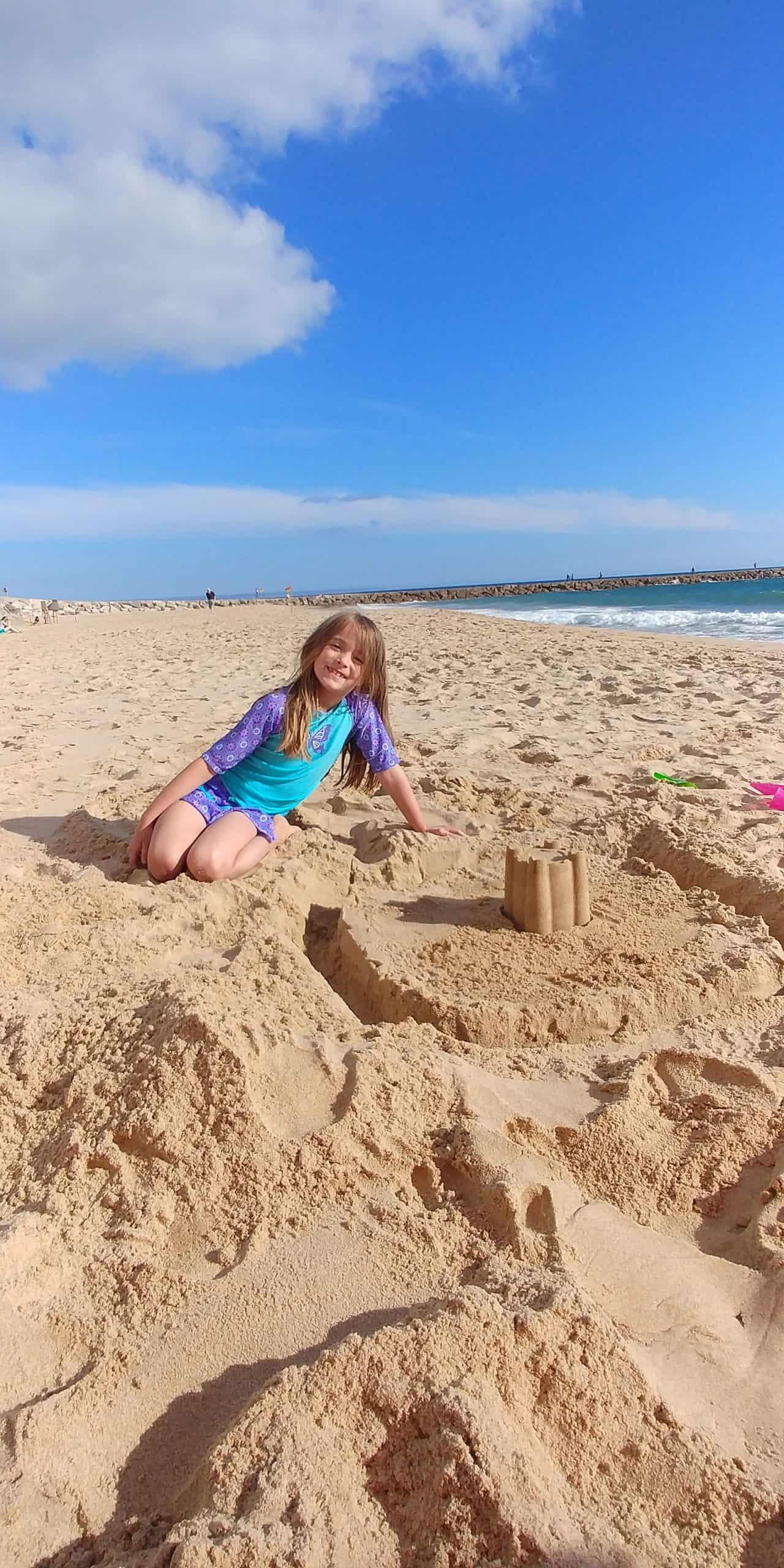 Lisbon building a castle