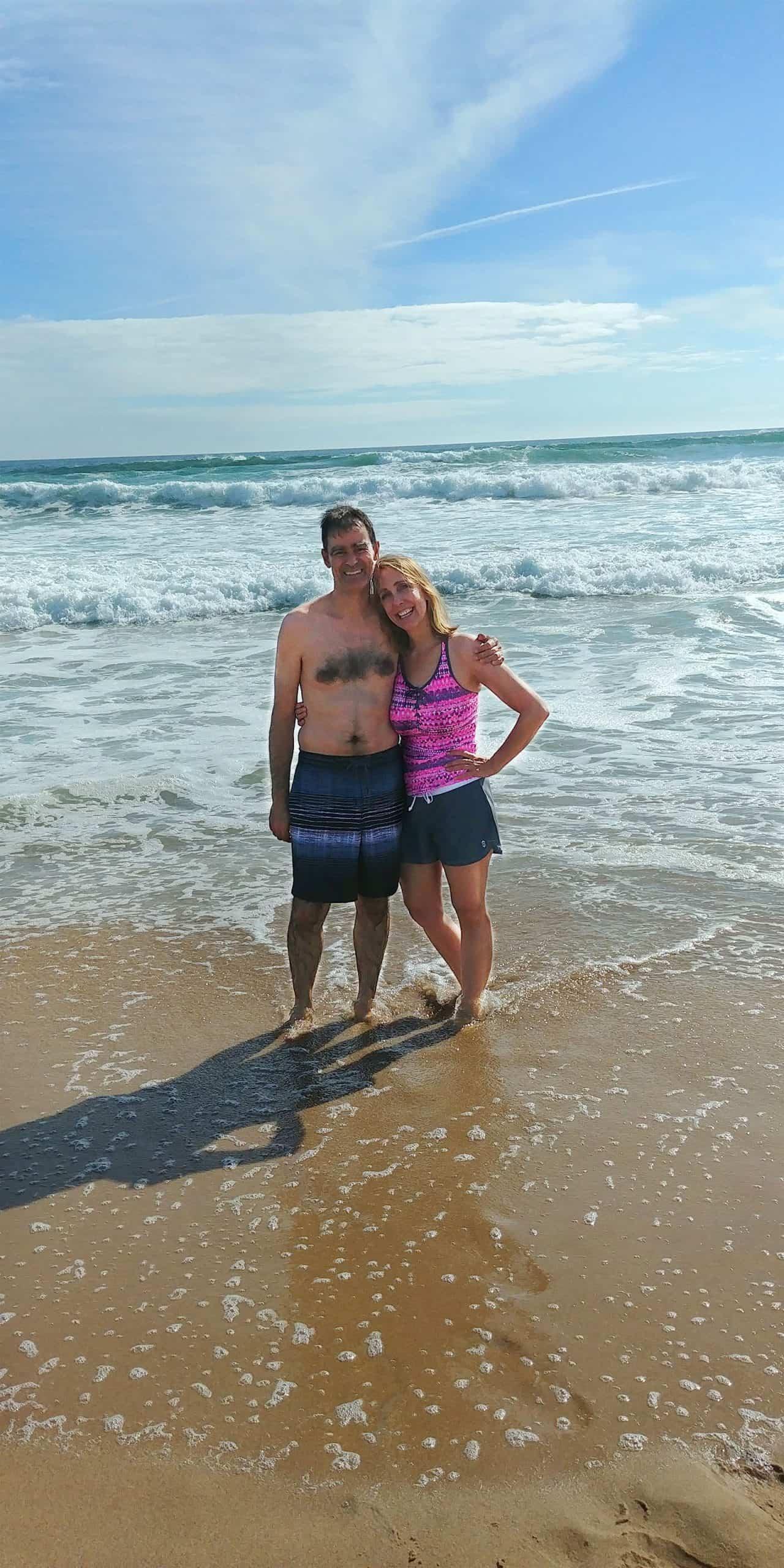 Teyla and husband TJ