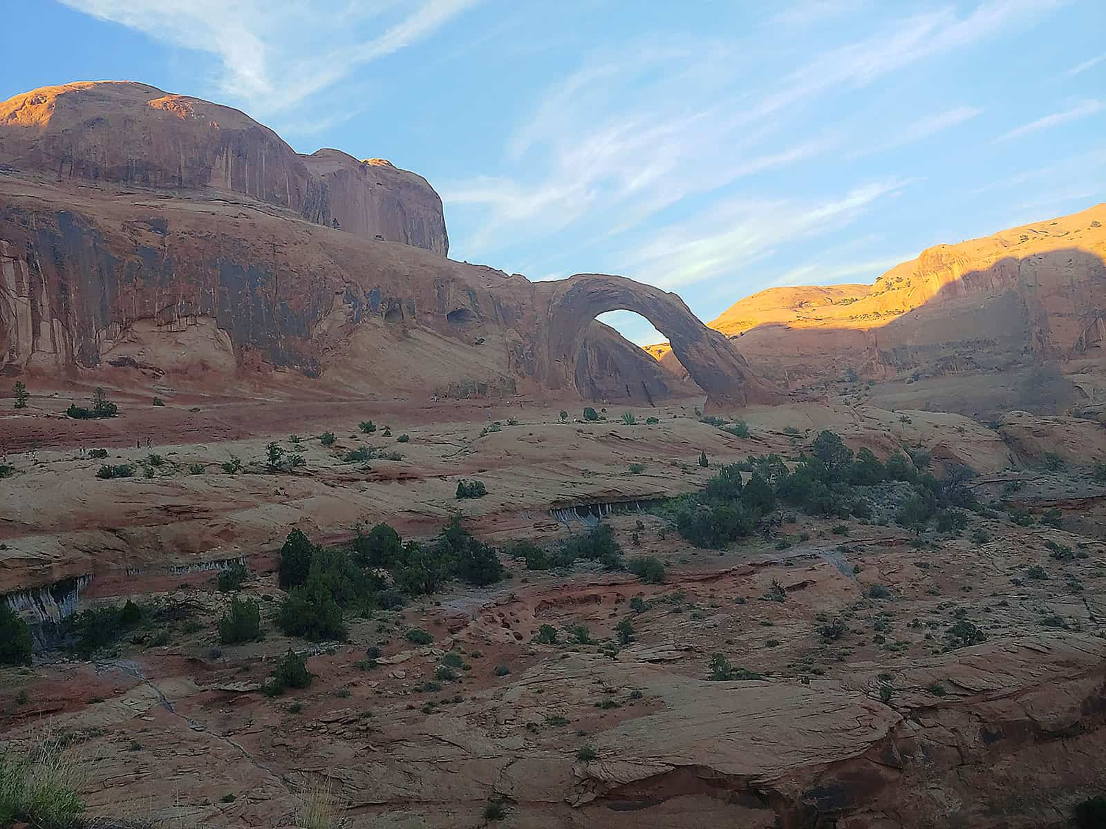 Corona Arch in Moab